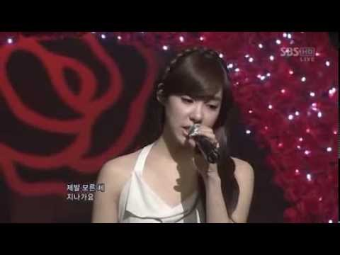 "소녀 시대 SNSD 티파니 Tiffany - By Myself ""Live"" - Smashpipe music Video"