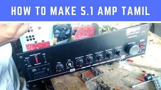 5 1 Home Theater amplifier assembling (STK 4141 IC