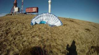 Why you should wear your helmet paragliding