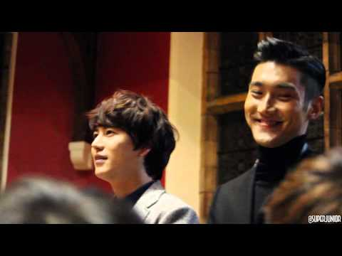 Super Junior Talk at Oxford Uni (Intro)