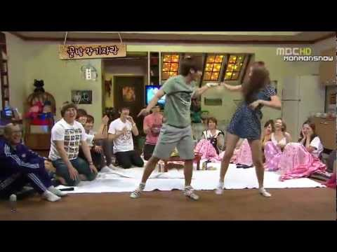 Dance Battle -Super Junior, SNSD, f(x)- SO Funny