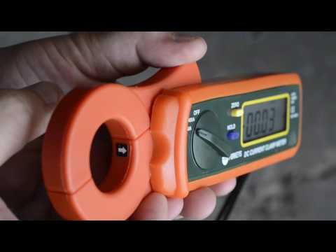 Using the Clip-on Ammeter