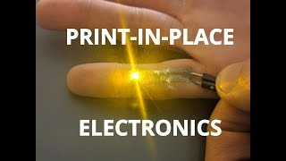 Print Electronics on Your Finger video