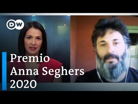 Hernán Ronsino recibe el Premio Anna Seghers