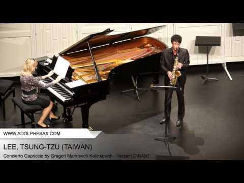 Dinant 2014 - Lee, Tsung-Tzu - Concerto Capriccio by Gregori Markovich Kalinkovich