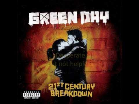 Green Day - Murder City (lyrics)