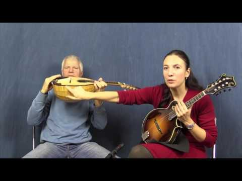 Caterina Lichtenberg talks with Mandolin Luthier Alfred Woll