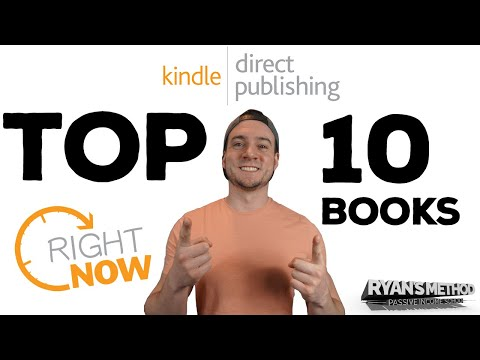 Amazon KDP Top 10 Low-Content Books RIGHT NOW! 🔥