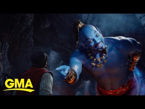 'Aladdin' films: Then vs. now