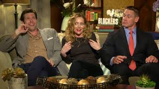 Blockers: Leslie Mann, John Cena & Ike Barinholtz Official Movie Interview