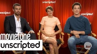 'Divergent'     Unscripted Interview | Moviefone