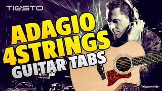 DJ Tiesto - Adagio for Strings (Guitar Tabs)