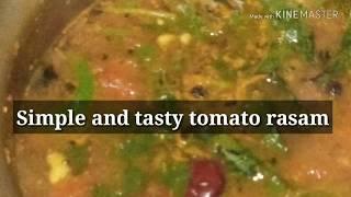 Simple and tasty tomato rasam/Thakkali Rasam