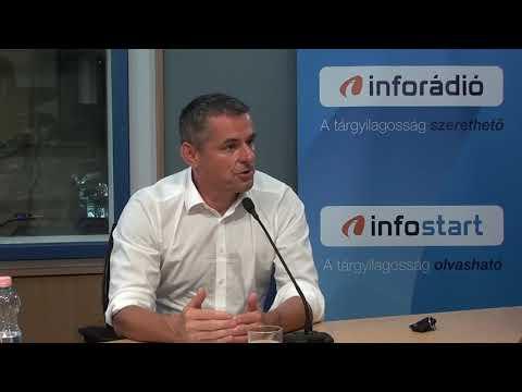 InfoRádió - Aréna - Gyuricza Csaba - 2021.08.10.