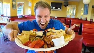 BIGGEST English Breakfast Eating Challenge!