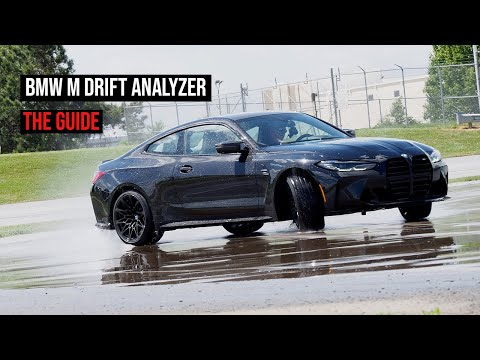 BMW M Drift Analyzer and M Drift Mode | DEMO 4K