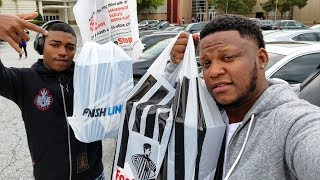WHAT DID WE COPP!!! SNEAKER SHOPPING WITH JAYY!!!