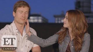 On The Set Of Netflix's 'Set it Up' With Glen Powell & Zoey Deutch