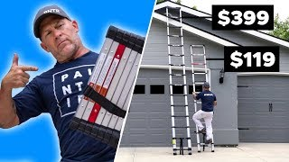 Telescoping Ladder FACE OFF! They're Basically the Same... Right?