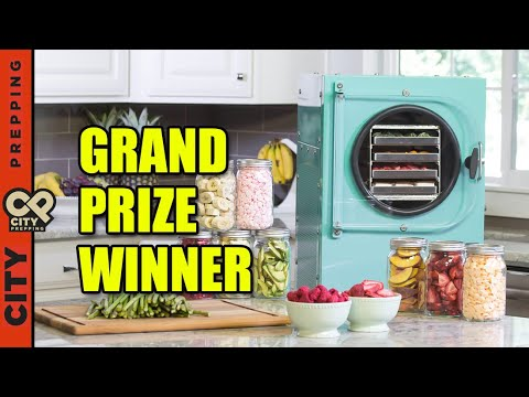 Harvest Right Freeze Dryer Giveaway.  And the winner is...