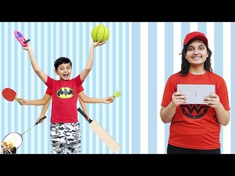 AAYU PIHU KE GAMES   Types of kids during play   Aayu and Pihu Show