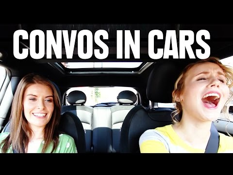 Conversations You Always Have In Cars