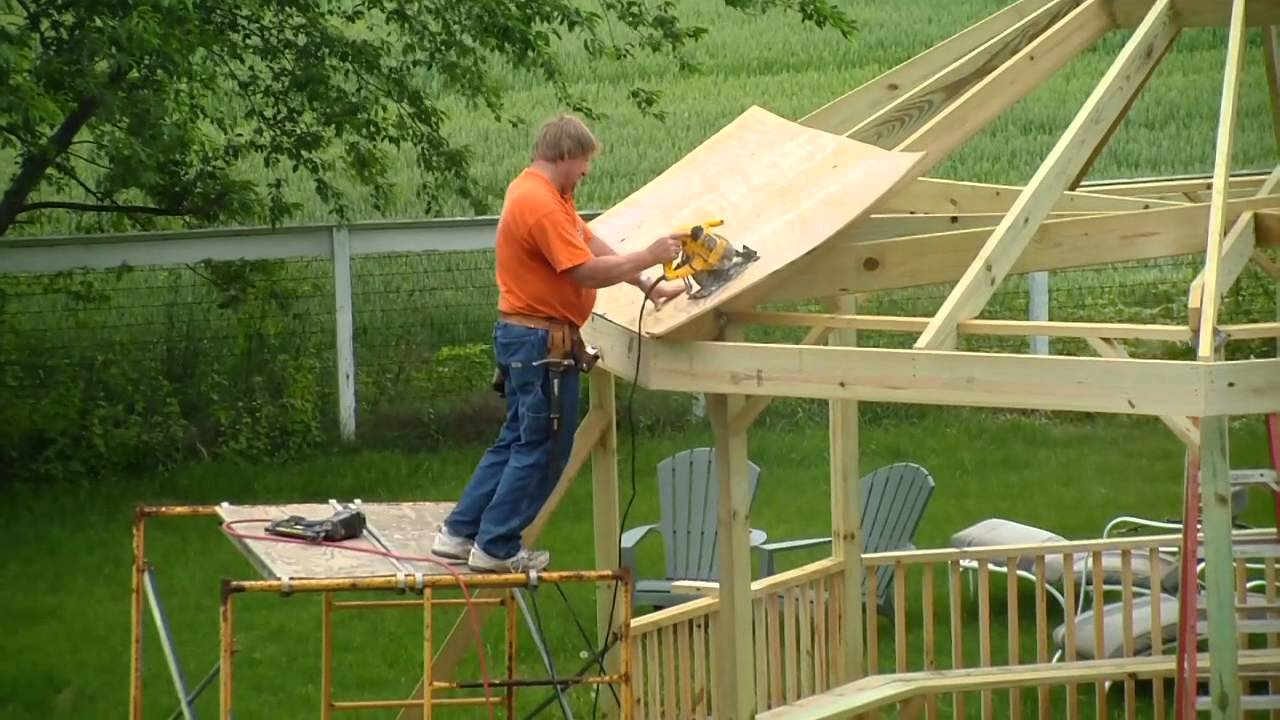 Gazebo Construction Youtube
