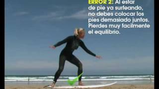 Cómo no levantarse de la tabla de surf