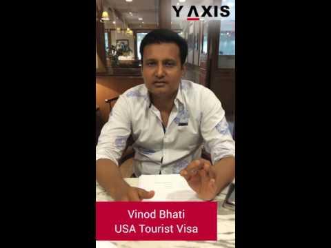 Vinod Bhati US Tourist visa PC Tara