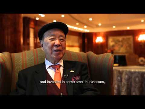 How Billionaire Philanthropist Lui Che Woo Started Out With Peanuts