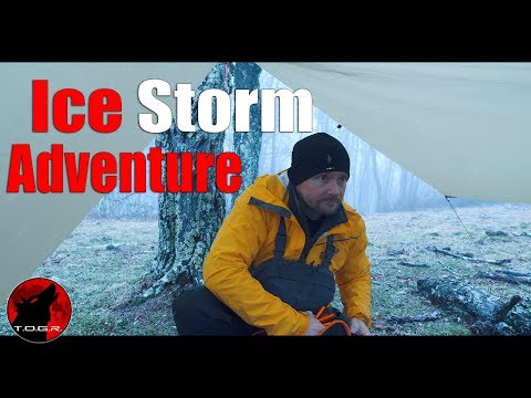 Setting Up a Day Camp in an Ice Storm