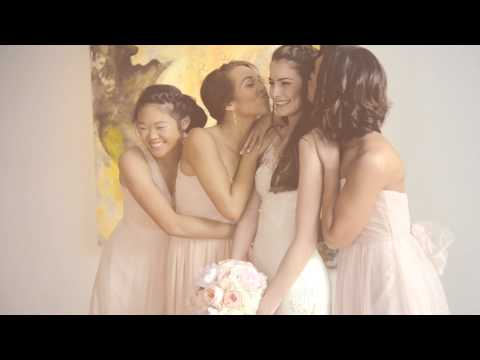 Lela Rose Wedding Dress & Bridal Party in BHLDN Bridesmaid Dresses Video - mywedding