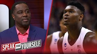 Chris Haynes thinks Zion's a 'can't passover' prospect for the No. 1 pick   NBA   SPEAK FOR YOURSELF