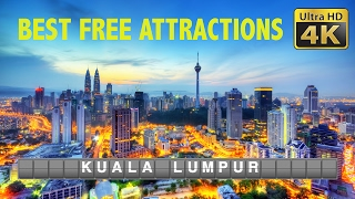 DIY Budget Travel (4K) - Kuala Lumpur, best FREE attractions and cheap eats 2017