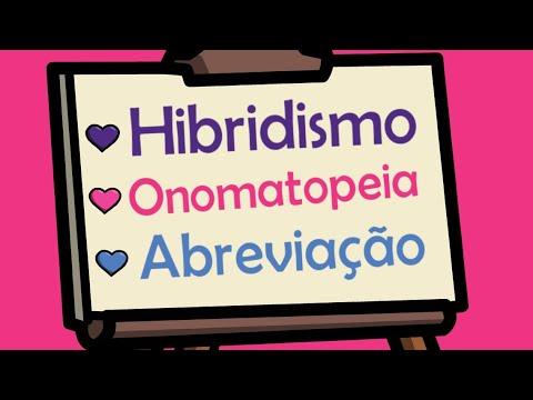 Hibridismo, Onomatopeia e Abreviação/Redução - Formação de Palavras I Português On-line