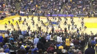 11/23/16 Chapkis halftime performance Warriors vs Lakers