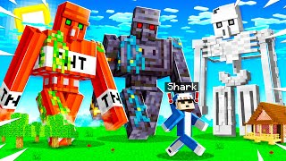 Minecraft But GOLEMS Can Be CRAFTED With ANY BLOCK!