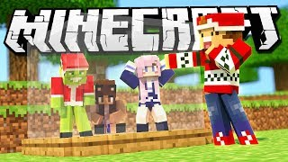 INVADING THE CHRISTMAS BASE! | Minecraft Base Invaders