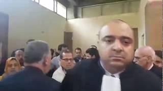 بالفيديو.. هذا هو المحامي اللي ضرب صحافية بقناة ''شوف تيفي'' فوسط المحكمة و هرس ليها نيفها | قنوات أخرى