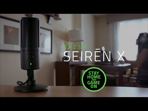Razer Seiren X | Plug In, Mic Up, Speak Out