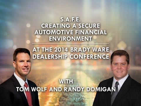Building a Secure Automotive Financial Environment (SAFE) - Brady Ware