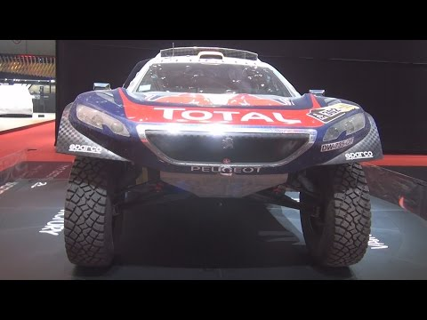 Peugeot 2008 Winner of Dakar 2016 Exterior in 3D