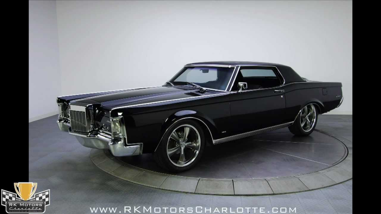 132337 1969 Lincoln Continental Mark III YouTube
