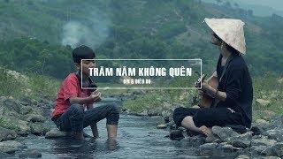 TRĂM NĂM KHÔNG QUÊN    Guitar cover BIN & Diêu Du    #Hianhtrai
