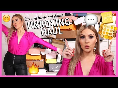 new makeup, free stuff & a GIVEAWAY! ? PR HAUL UNBOXING