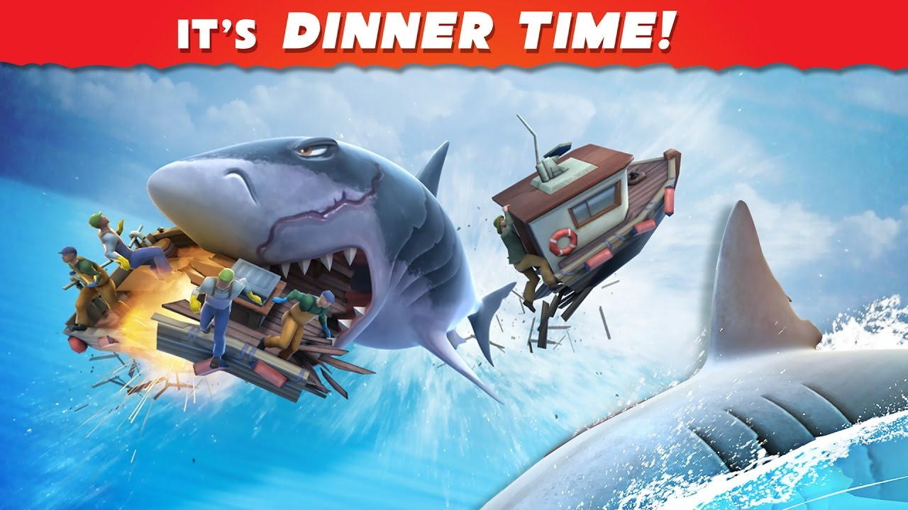 Play Hungry Shark Evolution on PC 2