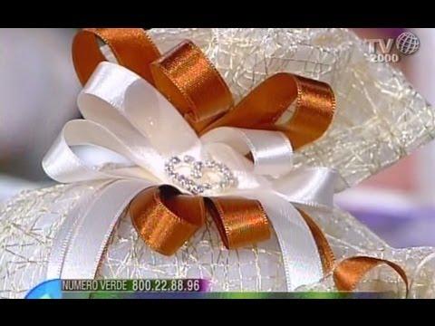 Come realizzare e confezionare delle eleganti bomboniere a for Fai da te per casa