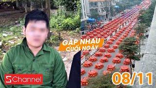 Xôn xao 2 nam sinh quay lén bạn nữ tắm khi học quân sự | Đám cưới kỉ lục dài 2km - GNCN 8/11