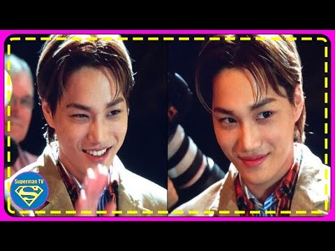 EXO's Kai makes a fabulous appearance at the 'Gucci' show during 'Paris Fashion Week'