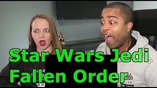 Star Wars Jedi Fallen Order — Official Story Reveal Trailer (REACTION 🔥)